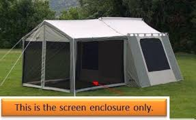 Awning Tent Kodiak 0631 Screen Enclosure For 6133 Deluxe Awning Tent