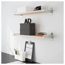 ekby järpen ekby bjärnum wall shelf white aluminum ikea