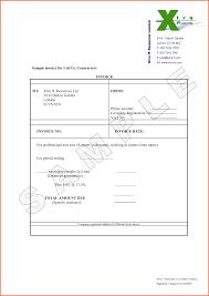 electrical contractor invoice template ideas contra saneme