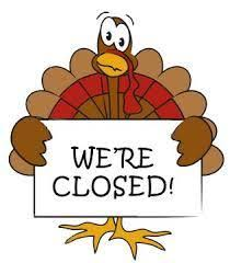 city offices closed thursday and friday for thanksgiving