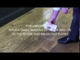 fiddes liquid wood floor wax application