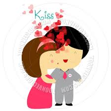 cartoon valentine u0027s day couple by ngocdai86 toon vectors eps 81607