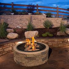 red ember rubbed bronze crossweave 36 inch wood burning fire pit