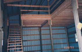 pole building framing photos steve cain construction inc