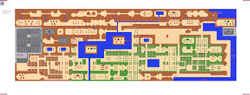 legend of zelda map with cheats vgm maps and strategies