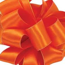 halloween wired ribbon 20 yards 1 5 inch black orange halloween
