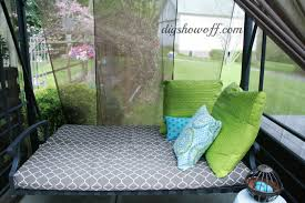 patio swing makeoverdiy show off u2013 diy decorating and home
