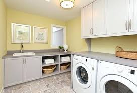 Laundry Room With Sink Utility Room Cabinet Small Utility Room With Grey Fitted Cabinets