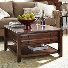 Living Room Sofa Tables by Anywhere Tuscan Brown Square Coffee Table With Knobs Pier 1 Imports