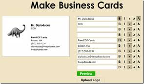 Business Card For Ceo How To Design Make And Print Business Cards For Free