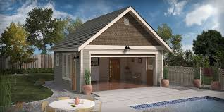 pool home plans garage pool house plans cgarchitect professional 3d one garage