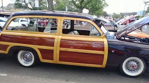 1951 ford country squire woody station wagon youtube