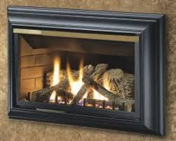propane fireplace gas insert and wood burning porch u0026 living room