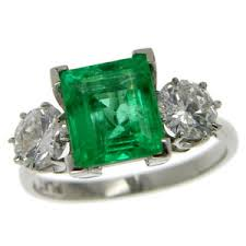 emerald rings uk vintage emerald ring 14370 0 00 hirschfelds ltd the home