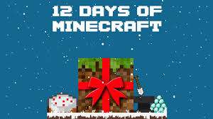 12 days of minecraft christmas a parody youtube