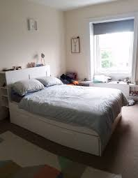 Small Double Bed Frames Ikea by Double Bed Frame Ikea Brimnes And Mattress With Headboard And
