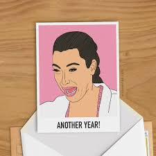 Crying Woman Meme - kim kardashian ugly cry greeting card woman birthday gift