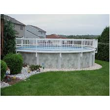 above ground pool fence kit 36