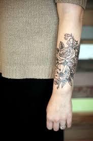 Tattoos On Forearm - flower forearm for shortlist