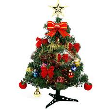 Small Decorative Artificial Christmas Trees by Online Get Cheap Decorated Artificial Christmas Tree Aliexpress