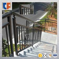 galvanized steel stair railing tf fence
