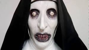 valak deluxe latex mask the conjuring 2 scary youtube