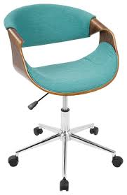 Colorful Desk Chairs Midcentury Modern Office Chairs Houzz