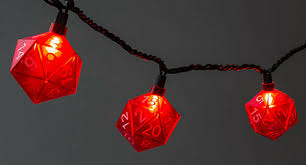 these d20 holiday lights will give you 10 holiday cheer nerdist