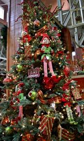 Macy S Christmas Decorations Holiday Lane Christmas Ornaments Elf Kisses Tree Theme