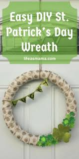 s day wreaths easy diy st s day wreath wreaths easy and holidays