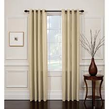 jaclyn smith oat hopsack window panel with grommets shop your