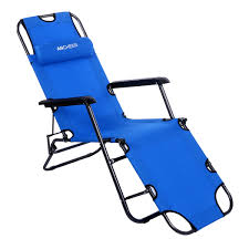Beach Chaise Lounge Chairs Folded Recliner Folding Lounge Nylon Chair Chaise Patio Outdoor