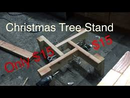 How To Build A Christmas Tree Stand