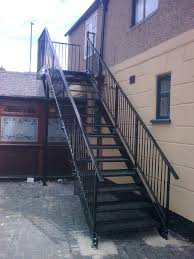 fire escape stairs home design styles