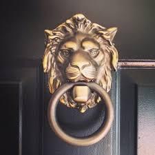 lion door knocker lion door knocker rejuvenation