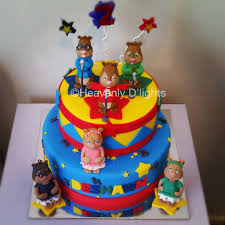 alvin and the chipmunks cake toppers heavenly d lights alvin and the chipmunks birthday cake