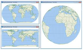 what is a map projection what are different types of map projections quora