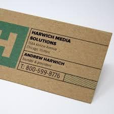 business cards kraft paper business cards eco friendly cards vistaprint