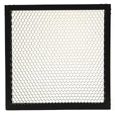 litepanels 30 degree honeycomb grid for 1x1 led lights 900 3017