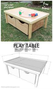 Wooden Train Table Plans Free by That U0027s My Letter Diy Play Table 24