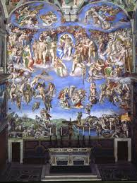 the last judgement vatican museums