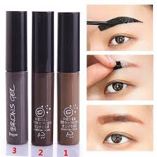 henna eye makeup makeup tool kit waterproof pigment 3 color peel brown