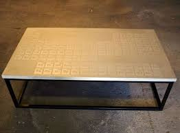 Periodic Table Coffee Table The Disappearing Spoon That Way Cool Periodic Table Borg
