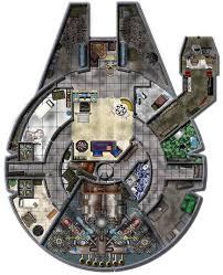 millenium falcon floor plan dundjinni mapping software forums star wars freighter