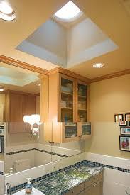 a tubular skylight can bring natural light into an interior