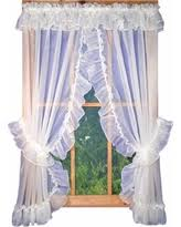 Curtains With Ties Savings On Ellis Curtain Sheer Ruffled Priscilla Pair