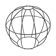 Wire Cage Light Round Wire Cage Light Modern U0026 Contemporary Lamps Cult Uk