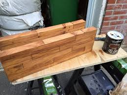 butcher block floating shelf diy montreal stain butcher block shelf