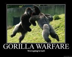 Gorilla Warfare Meme - to devs super serious dilema discussion on kongregate