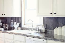 metal kitchen backsplash sleek kitchen backsplash ideas using metal sheet at hometren